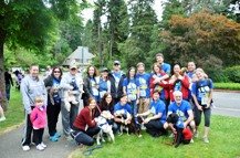 Seattle Veterinarians Participate in Furry 5K Walk For Charity