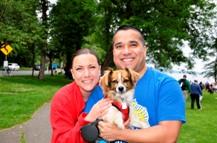 Seattle Veterinary Hospital Team in Furry 5K Walk For Charity